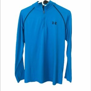 Under Armour men's blue and black pullover top